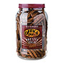 Office Snax Pretzel Assortment, Sticks, 40 oz Tub