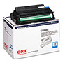 Okidata High Yield Drum Kit/Toner, OKI Type C6 for C3200, 15,000 pgs, Cyan