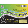 "Pacon Black Self Adhesive Letters, 2"", 159 Characters"