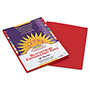 Pacon Construction Paper, 58 lbs., 9 x 12, Red, 50 Sheets/Pack