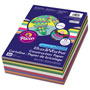 Pacon Construction Paper Smart-Stack, 58 lbs., 9 x 12, Assorted, 300 Sheets/Pack