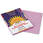 Pacon Construction Paper, 58 lbs., 9 x 12, Lilac, 50 Sheets/Pack