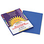 Pacon Construction Paper, 58 lbs., 9 x 12, Bright Blue, 50 Sheets/Pack