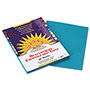 Pacon Construction Paper, 58 lbs., 9 x 12, Turquoise, 50 Sheets/Pack