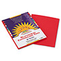 Pacon Construction Paper, 58 lbs., 9 x 12, Holiday Red, 50 Sheets/Pack