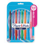 Papermate® Gel Retractable Pen, .7mm Point, 8/ST, Assorted
