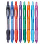 Papermate® Profile Ballpoint Retractable Pen, Assorted Ink, Bold, 8/Set