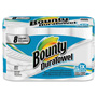 Bounty DuraTowel Paper Towels, 2-Ply, 9 x 11, 53/Roll