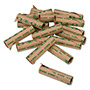 PM Company Preformed Paper Tubular Coin Wrappers for 50 Dimes, Green, 1000/Carton