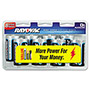 Rayovac 8 Pack Alkaline D Cell Batteries
