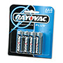 Rayovac Alkaline AA Batteries 4-Pack