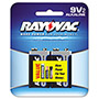 Rayovac 9V Alkaline Battery - 2 pack
