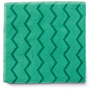 Rubbermaid Microfiber Cleaning Cloths, 16w x 16l, Green