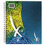 Roaring Spring Paper Maxim Notebook, College Rule, 11 x 9, 1 Subject, 90 Sheets/Pad, Assorted