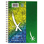 Roaring Spring Paper Maxim Notebook, College Rule, 9.5 x 6.5, 3 Subject, 138 Sheets/Pad, Assorted