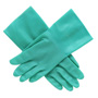 "R3 Safety LA142G9 Nitrile Unlined .015 Mil 12"" Gloves, Size 10"