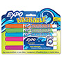 Expo® Washable Dry Erase Marker, Fine Point, Assorted, 6/Set