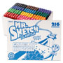 Mr. Sketch® Scented Stix Watercolor Markers, Fine Point, 12 Colors, 216/Set