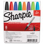 Sharpie® Permanent Markers, 1.0mm Fine Tip, 8 Color Set