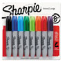 Sharpie® Permanent Markers, Chisel Tip, Assorted