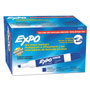 Expo® Low Odor Dry Erase Marker, Chisel Tip, Blue