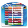 Expo® Low Odor Dry Erase Marker, Chisel Tip, Assorted, 16/Set