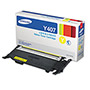 Samsung CLTY407S (CLT-Y407S) Toner, 1,500 Page-Yield, Yellow