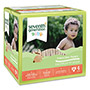Seventh Generation Baby Diapers, Stage 4, 22-37 lbs, Tan