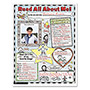 Scholastic Instant Personal Poster Sets, Read All About Me, 17x22, K-2, 30/Set