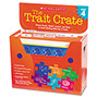Scholastic Trait Crate, Grade 4, 7 Books, Posters, Folders, Transparencies, Stickers