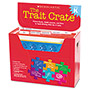 Scholastic Trait Crate, Kindergarten, 6 Books, Learning Guide, Cd, More