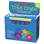 Scholastic Trait Crate, Grade 2, 6 Books, Learning Guide, Cd, More