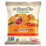 The Better Chip Corn Chips Snack, Natural, 2oz., 10BG/CT, Red Pepper/Salsa