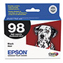 Epson T098120 98 High-Capacity Black Ink Cartridge