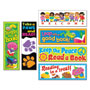 Trend Enterprises Bookmark Combo Packs, Celebrate Reading Variety #1, 2w x 6h, 216/Pack