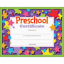 Trend Enterprises Colorful Classic Certificates, Preschool Certificate, 8 1/2 x 11, 30 per Pack