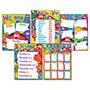 Trend Enterprises Classroom Basics Furry Friends Learning Chart