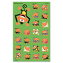 Trend Enterprises Monkey Antics Stickers, 184-208 Stickers/PK