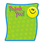 "Trend Enterprises Note Pads, Thank You, Acid-Free, 5"" x 5"", 50 Die-Cut Sheets"
