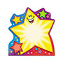 "Trend Enterprises Note Pads, Super Star, 5"" x 5"", 50 Die-Cut Sheets"