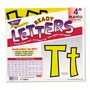 "Trend Enterprises 4"" Uppercase/Lowercase Playful Ready Letters Combo Pack"