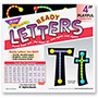 "Trend Enterprises Ready Letters Alpha-Beads Letter Combo Pack, Black, Multiple Colors, 4"" h, 216/set"