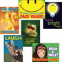 "Trend Enterprises Assorted ""Attitude And Smiles"" Themed Motivational Prints, 6/Pack"