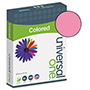 Universal Premium Colored Copier/Laser Printer Paper, 8 1/2 x 11, Cherry, 500 Sheets/Ream