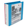 "Universal Economy 3"" View Binder, Blue"
