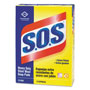 S.O.S. S.O.S® Steel Wool Soap Pad, 15 Pads/Box