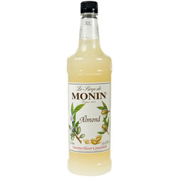 Monin Almond Drink Syrup, 1 Liter