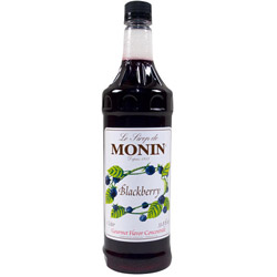 Monin Blackberry Drink Syrup, 1 Liter