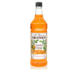 Monin Candied Orange Drink Syrup, 1 Liter