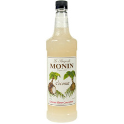 Monin Coconut Drink Syrup, 1 Liter